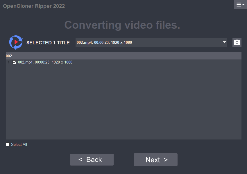 OpenCloner Ripper Open MP4