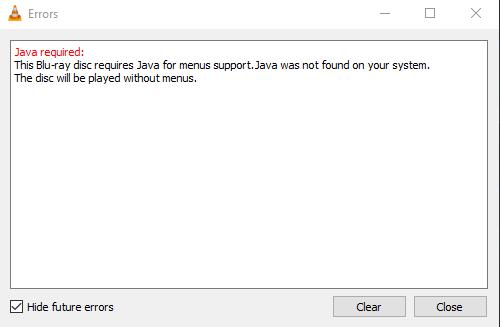VLC error2