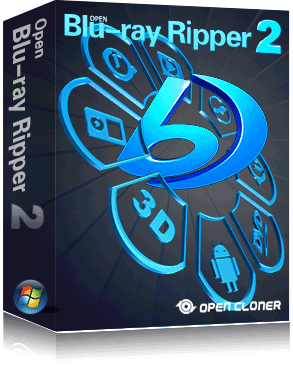 Open Blu-ray Ripper Box