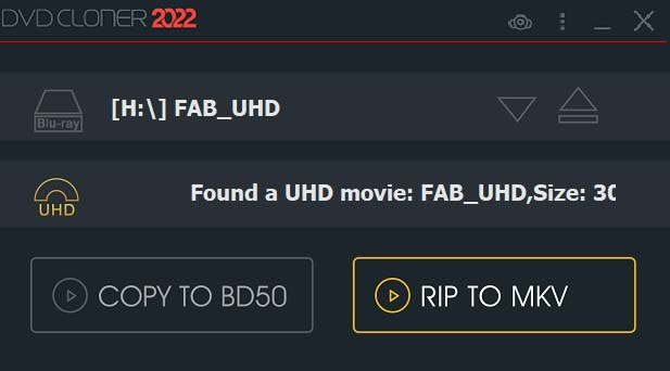 UHD blu-ray to mkv