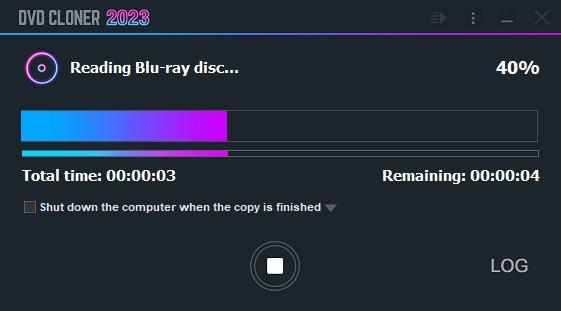 dvd-cloner copy blu-ray reading
